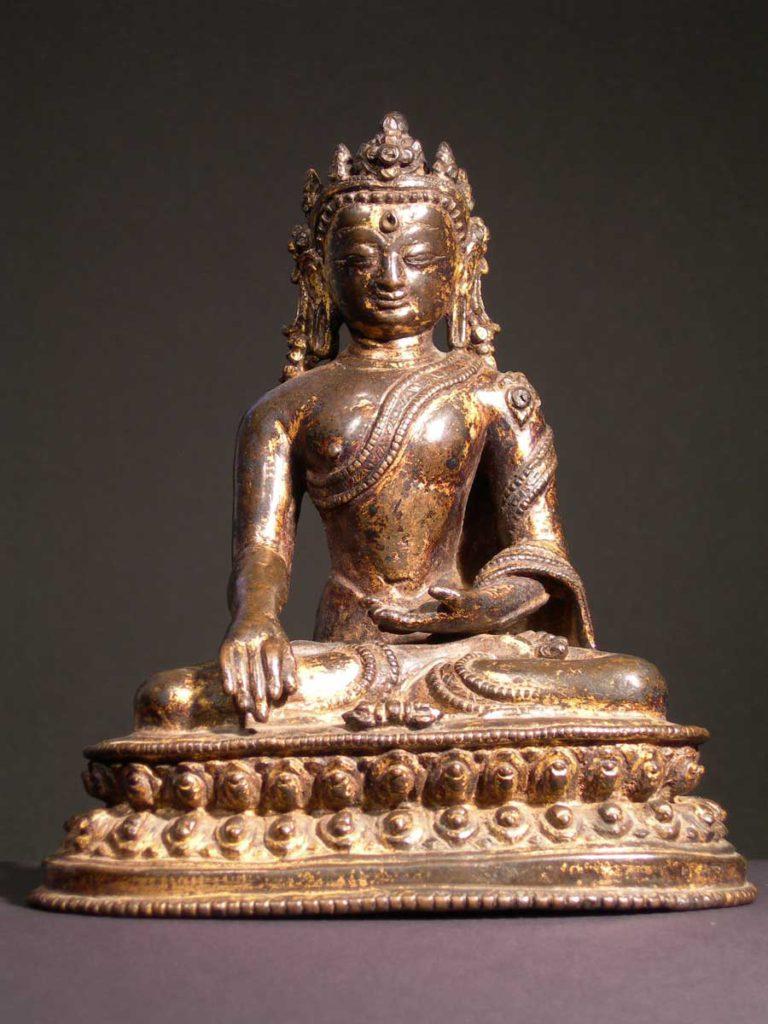 3: Boeddha Akshobhya, Zuid-Tibet ca. 1400 (foto: P. Hamilton)